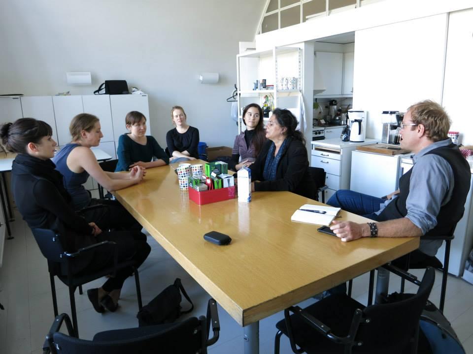Meeting in HIAP Suomenlinna